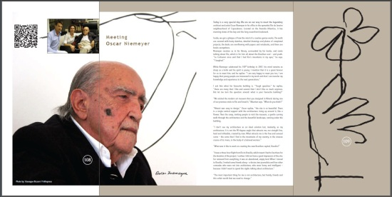 Meeting Oscar Niemeyer - by CoolBrands Around the World in 80 Brands