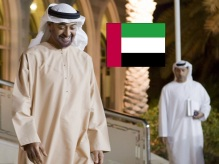 Meeting Sheikh Mohammed bin Zayed al Nahyan