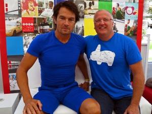 Maarten Schäfer (CoolBrands) and Pete Favat - Arnold Worldwide