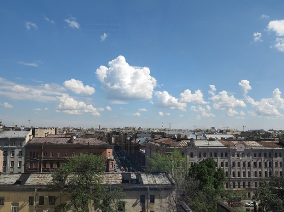 View over St. Petersburg