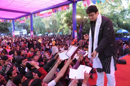 Prasoon Joshi at the Jaipur Lit Fest
