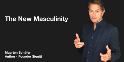 The New Masculinity - Maarten Schäfer - Author - Founder Signitt