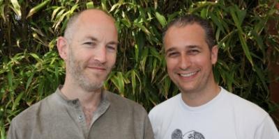 Daniele Fiandaca and Mark Chalmers - founders Creative Social