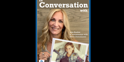 Julie Roehm in conversation with Robin Domeniconi